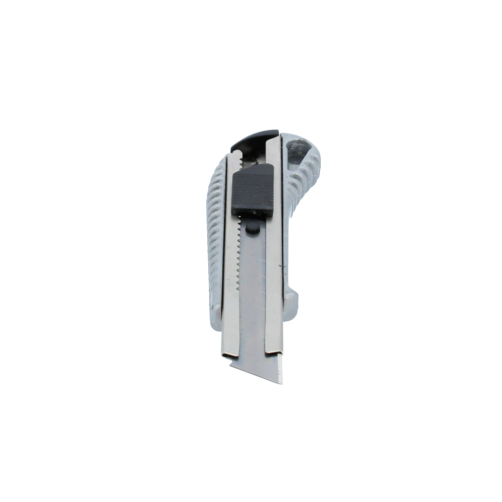 Nóż do tapet 18 mm metalowy z automatyczną blokadą