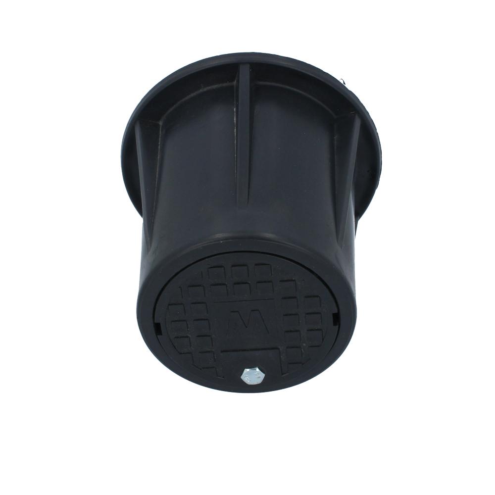 Studzienka rewizyjna z plastikowym wiekiem 110 mm 150 mm
