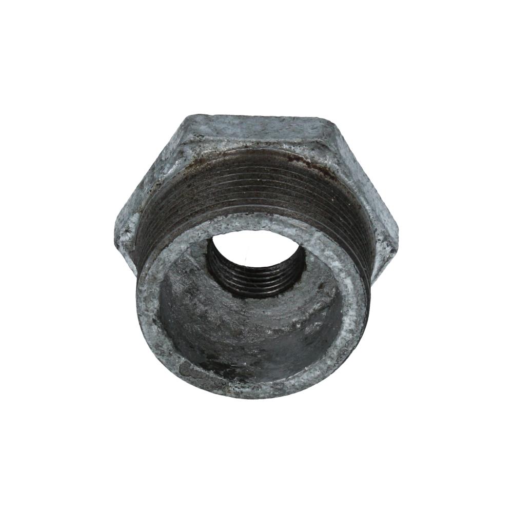 Redukcja żeliwna ocynkowana 6/4''x1/2''