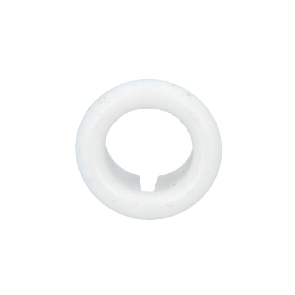 Rozetka umywalkowa biała
