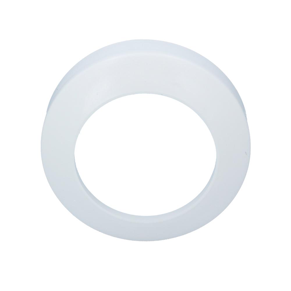Rozeta cała 110 mm biały