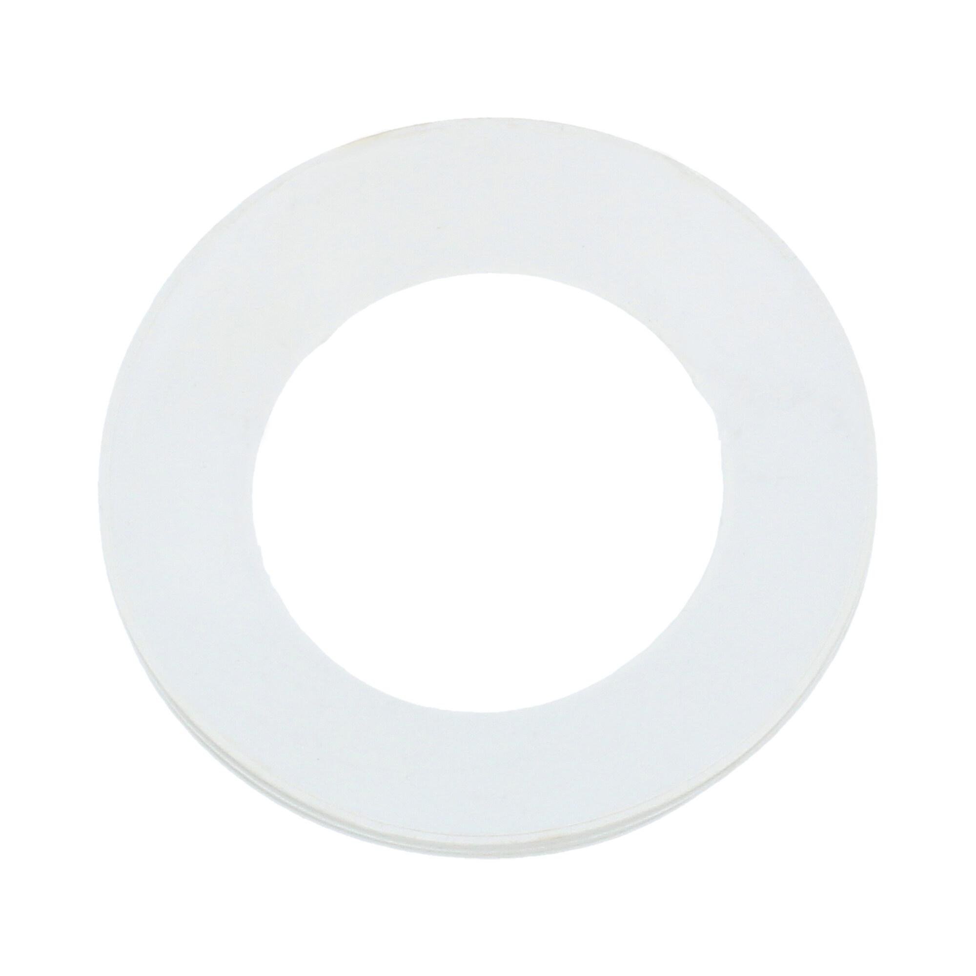 Uszczelka kolana WC 110 mm biały