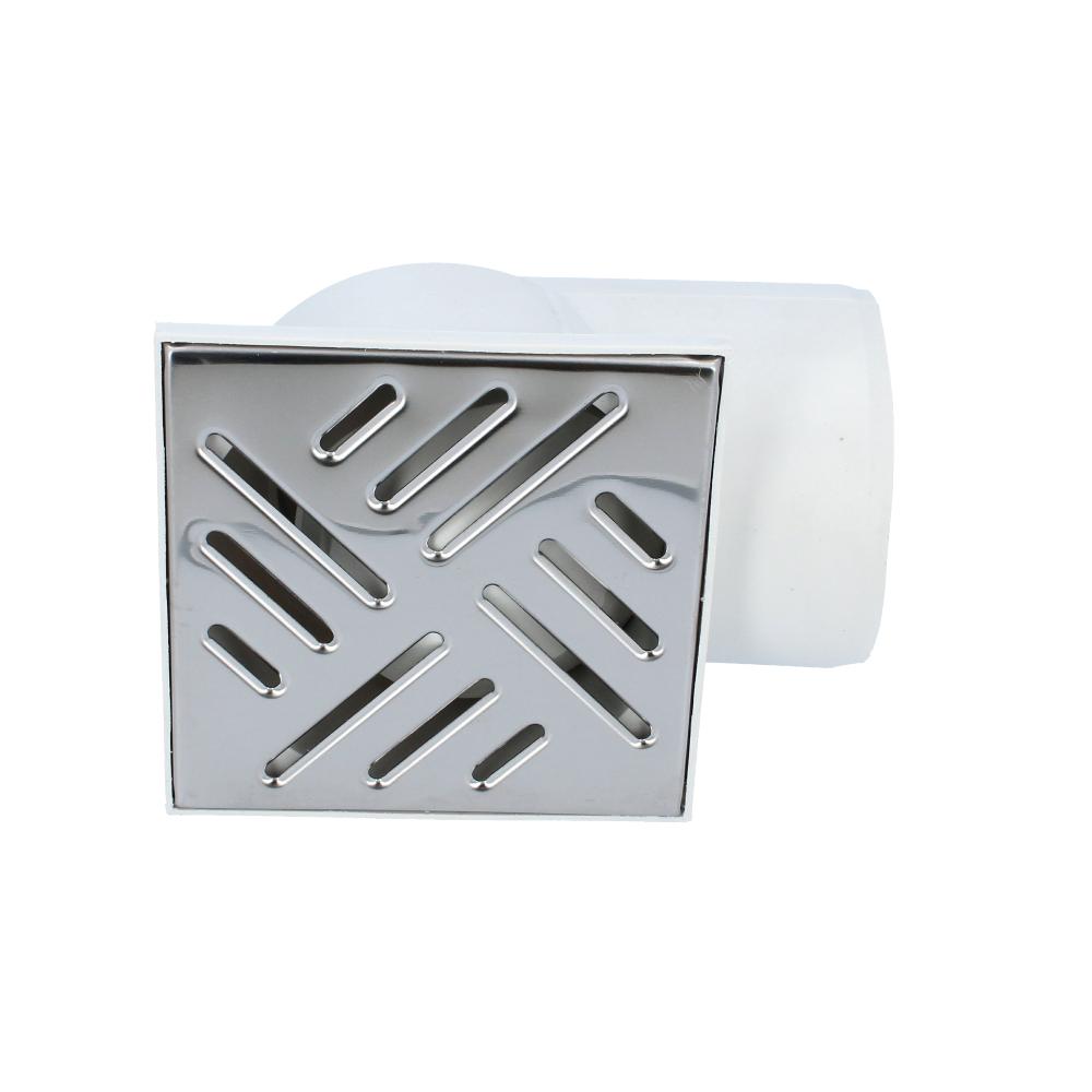 Kratka kanalizacyjna boczna metalowa 110 mm 150 mm x 150 mm
