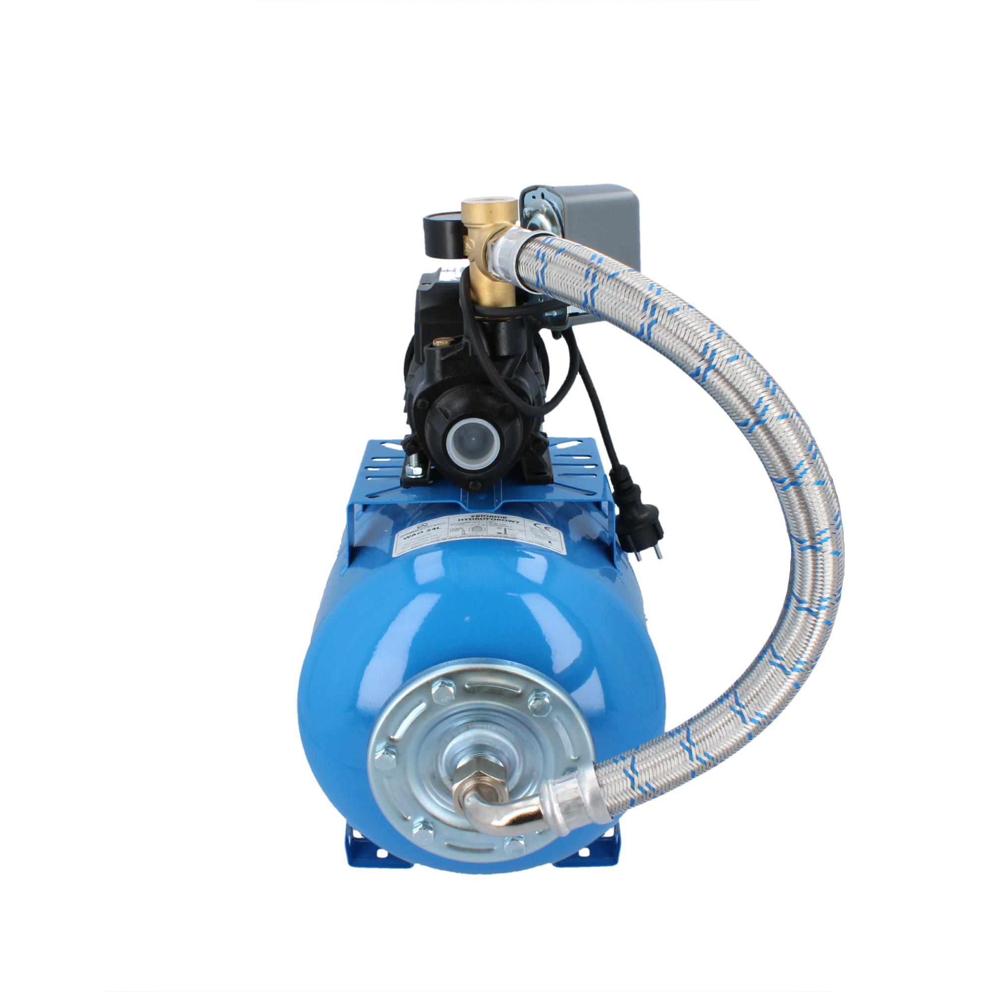Zestaw hydroforowy 24L z pompą QB60