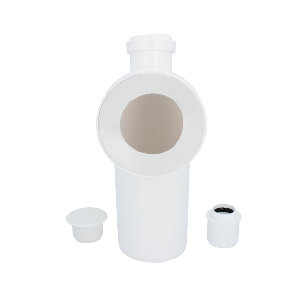 Kolano WC 110 mm 90 stopni z wyjściem na pralkę 50 mm