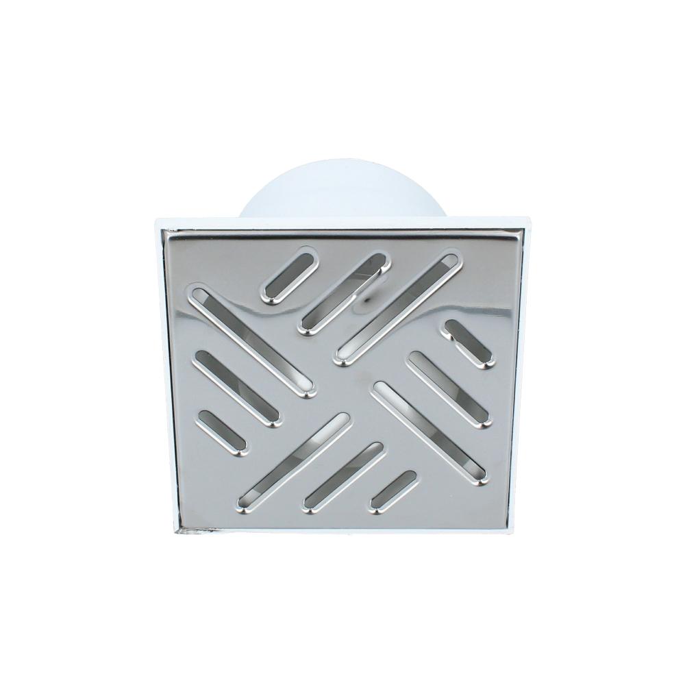 Kratka kanalizacyjna dolna metalowa 110 mm 150 mm x 150 mm