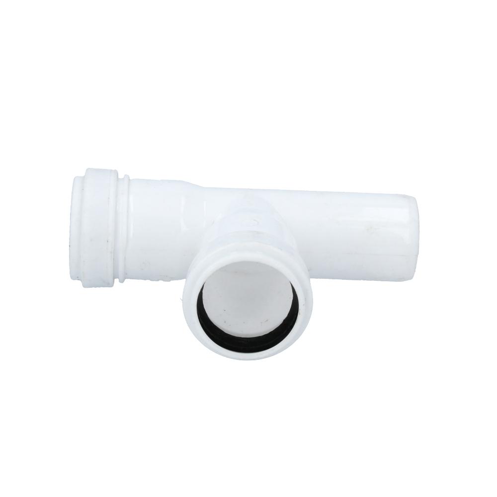 Trójnik kanalizacyjny biały 32 mm x 32 mm 90 stopni