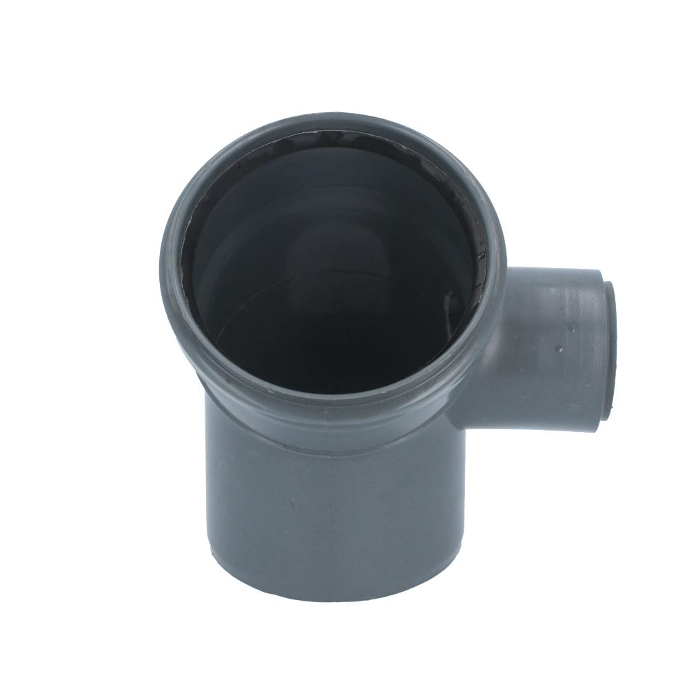 Kolano kanalizacyjne 110 mm x 50 mm 45 stopni prawe