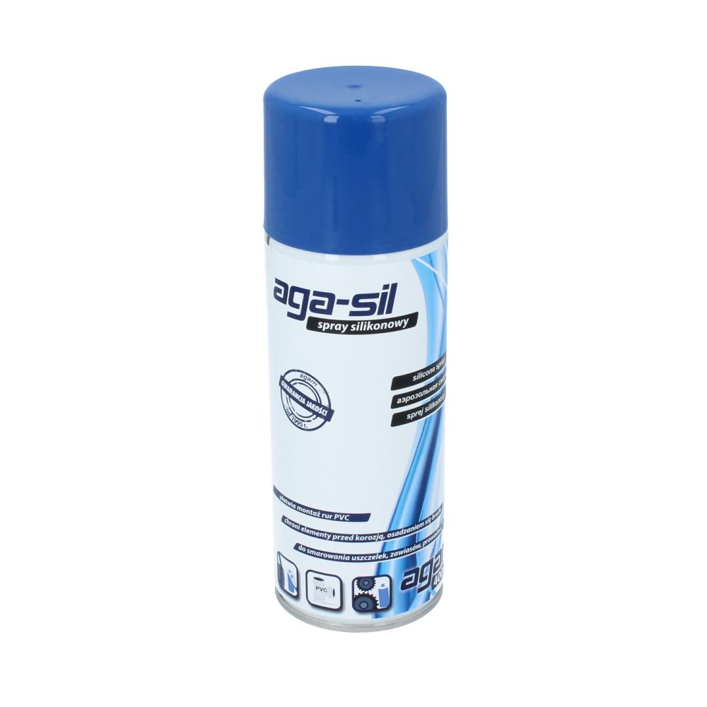 Spray silikonowy aga-sil 400 ml