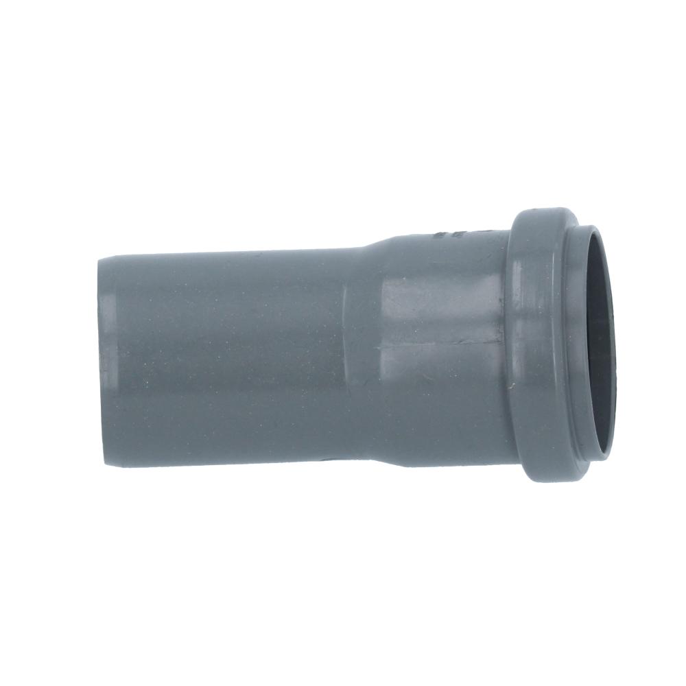 Kolano kanalizacyjne szare 50 mm 15 stopni