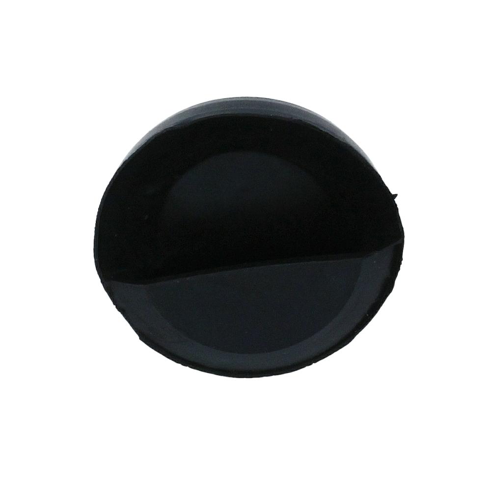 Korek czarny 45 mm do wanny lub zlewu