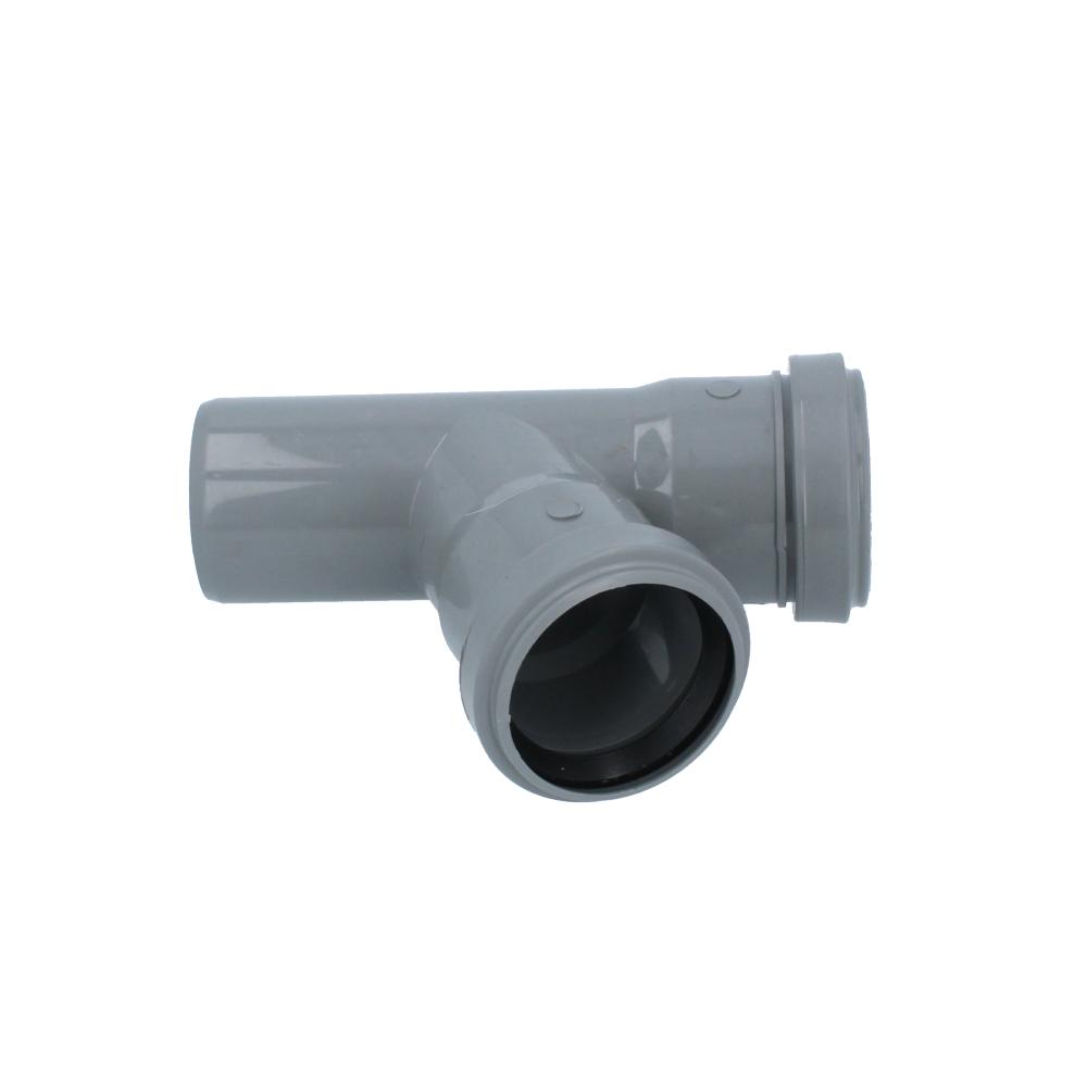 Trójnik kanalizacyjny szary 50 mm x 50 mm 67 stopni